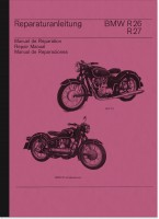 BMW R 26 and R 27 repair manual workshop manual assembly instructions