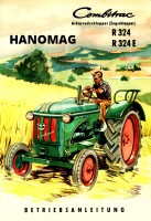Hanomag R 324/ R 324 E Combitrac Operating Instructions