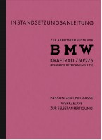 BMW R 75 WH 750/275 special tool repair instruction assembly instruction
