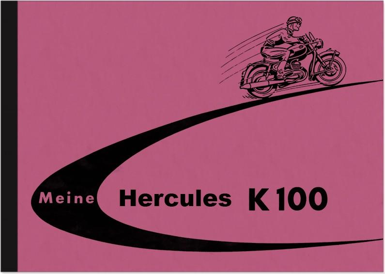 Hercules K 100 Bedienungsanleitung Handbuch Betriebsanleitung K100