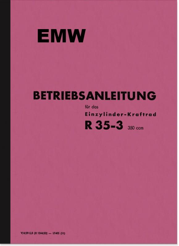 EMW R 35/3 Operating Manual Operating Manual R35/3