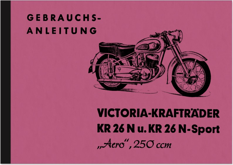 Victoria KR 26 N Aero Sport Bedienungsanleitung Betriebsanleitung Handbuch