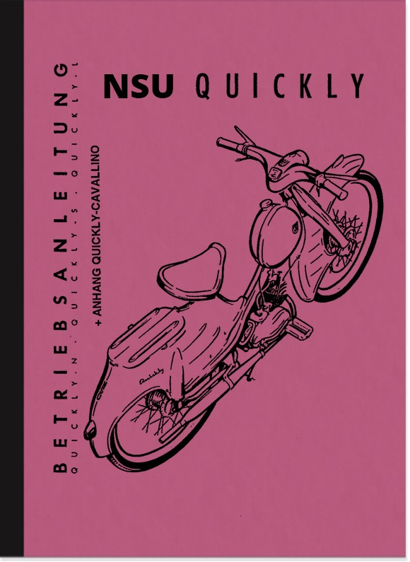 NSU Quickly N S L Cavallino Operating Instructions Manual