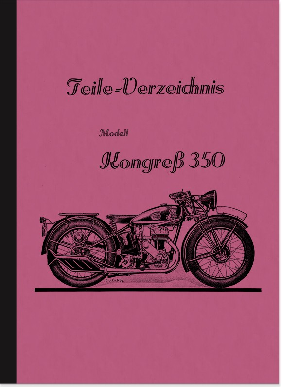 Triumph Congress Congress 350 Spare Parts List Spare Parts Catalogue Parts Catalogue