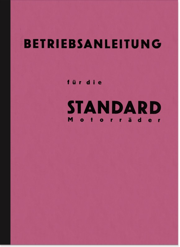 Standard 350-1000 cc models 27-32 Motorcycle User Manual Manual