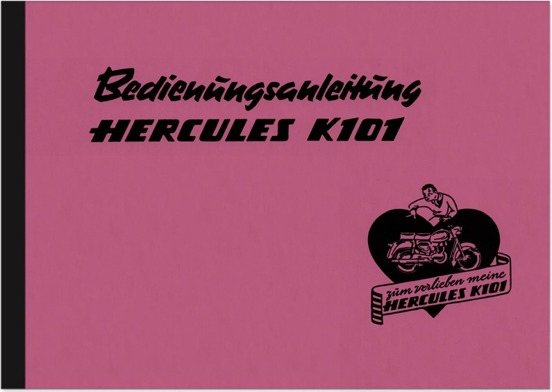 Hercules K 101 Operating Instructions Manual
