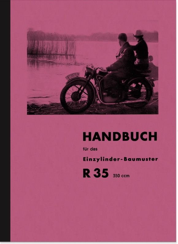 BMW R 35 Operating Instructions Manual Manual R35