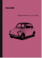Fiat 500 R 1973 Main features Repair instructions Assembly instructions