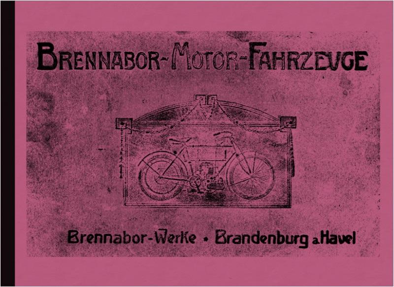 Brennabor Werke Motorrad Seitenwagen Dreirad Katalog Broschüre Prospekt Modelle 1905