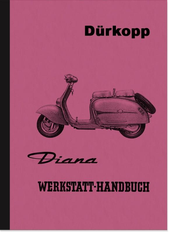 Dürkopp Diana 200 Reparaturanleitung Montageanleitung Werkstatthandbuch