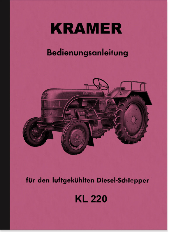 Kramer KL 220 KL220 Operating Instructions Operating Manual