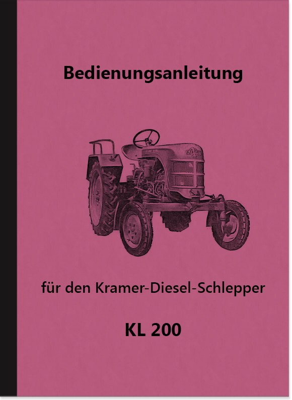Kramer KL 200 KL200 Operating Instructions Operating Instructions Manual