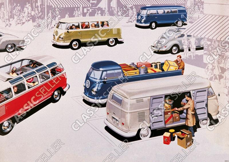 VW Bulli Bus Transporter T1 Poster image