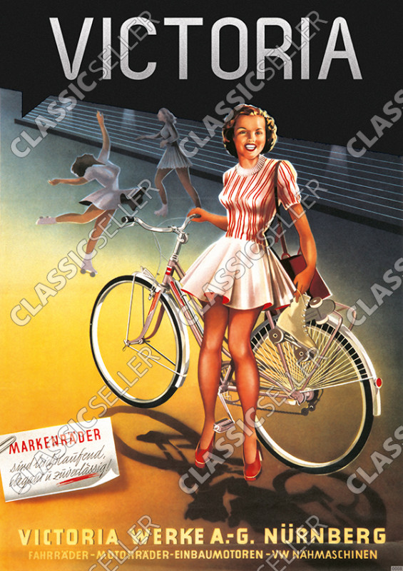 Victoria bicycle bicycles posters poster Picture