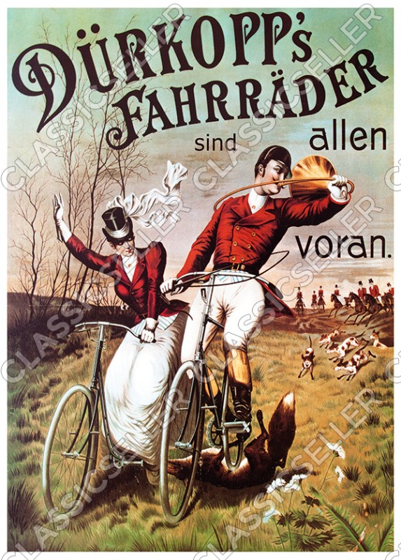 Dürkopp's bicycles bicycle poster Picture