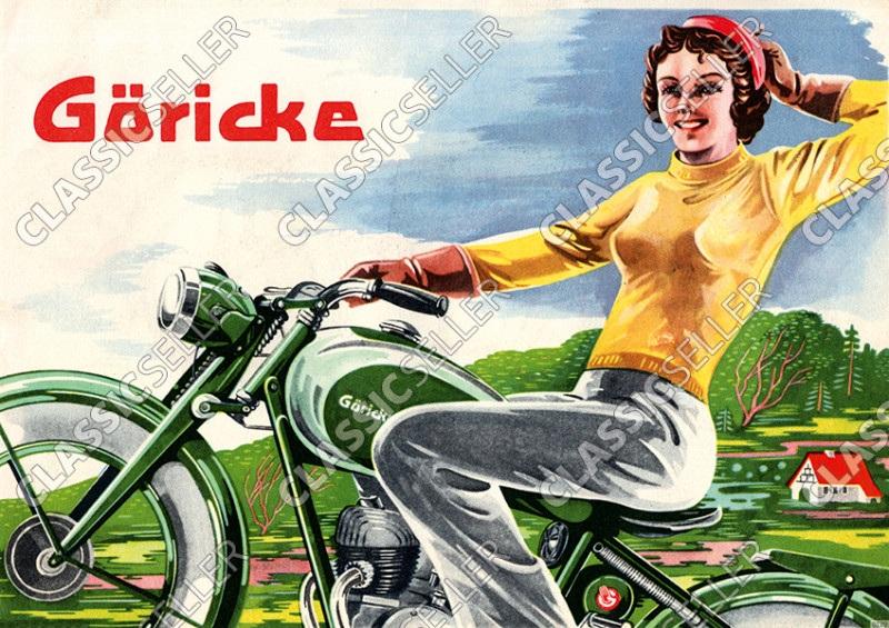 Göricke 98 98er Poster Plakat Bild