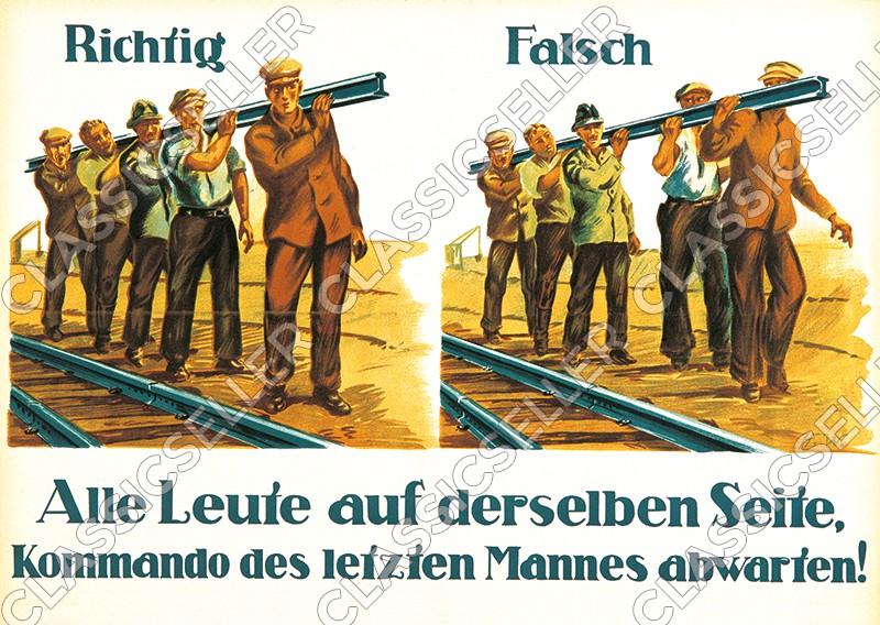 Arbeitsschutz Sicherheit Sicherheitshinweis Poster Plakat Warnung Hinweis - Motiv 8