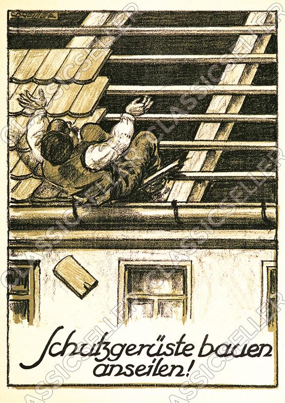 Arbeitsschutz Sicherheit Sicherheitshinweis Poster Plakat Warnung Hinweis - Motiv 13