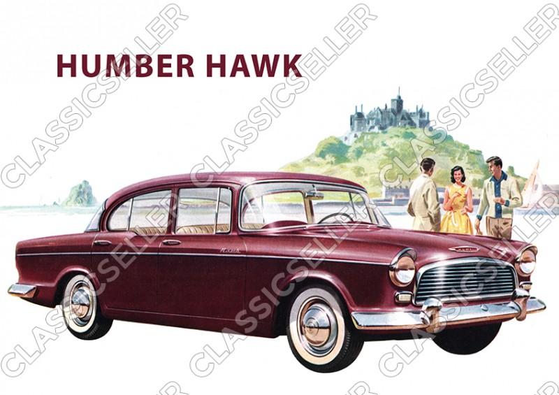 Humber Hawk Poster Plakat Bild Kunstdruck