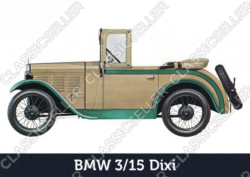 BMW Dixi 3/15 Car Car Poster Picture