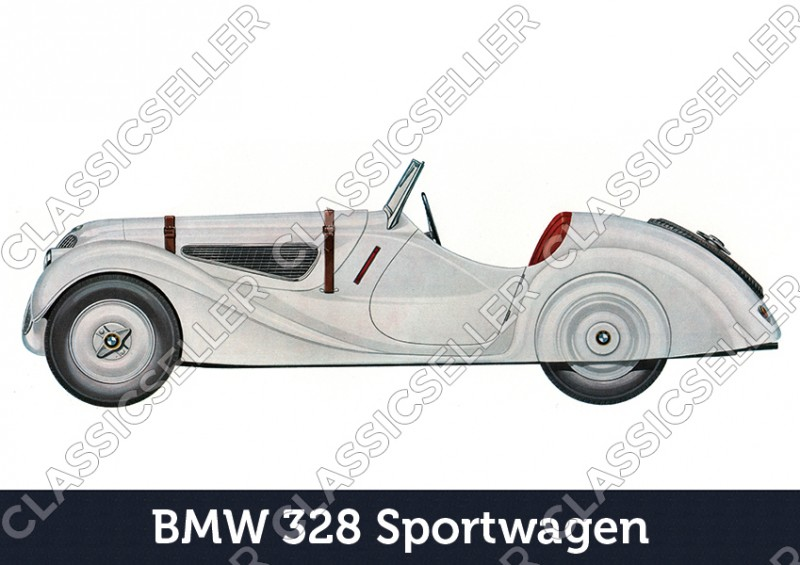 BMW 328 sports car sports car car posters poster Picture