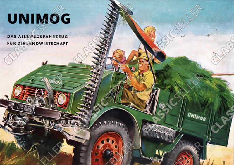 Unimog 411 Poster Picture