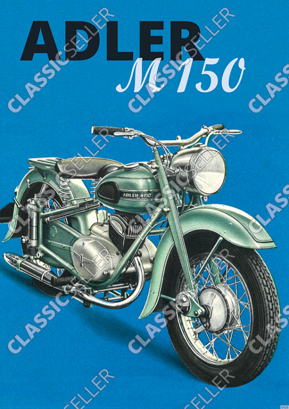 Eagle M 150 M150 motorcycle Poster Picture